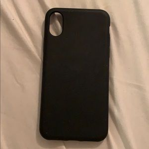 Insignia soft shell case iPhone XS